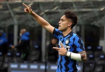 Lautaro quiere seguir en el Inter. EFE