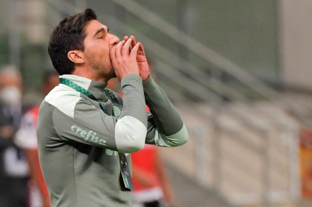Qual é a escalação do Palmeiras contra o Flamengo, pelo Brasileirão? EFE/Nelson Almeida