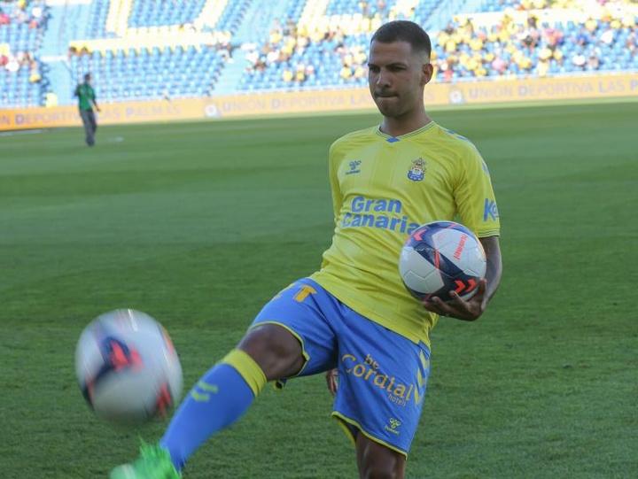 Jonathan Viera volvió a Las Palmas. EFE