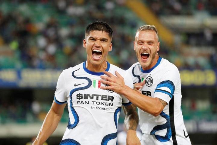 Correa sort l'Inter du piège face à Vérone. EFE