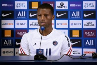 Wijnaldum : Le PSG ? J'ai choisi en fonction de mon feeling. EFE