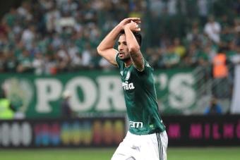 Palmeiras ya es segundo con 35 puntos. EFE