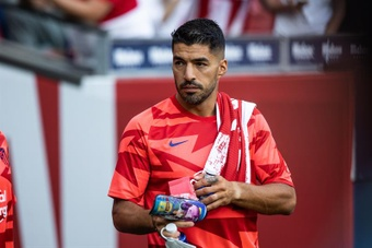 La suplencia de Suárez ante el Athletic estaba pactada. EFE/Archivo