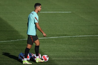 Rodrigo Fabri analizó la figura de Cristiano Ronaldo. EFE