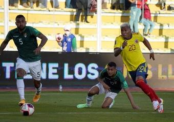 Saucedo rebaja la euforia colombiana y consigue un punto para Bolivia
