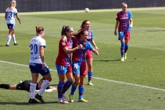 El Barça goleó al Granadilla 5-0. EFE