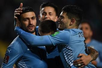 Uruguay se impuso por 4-2 a Bolivia. EFE
