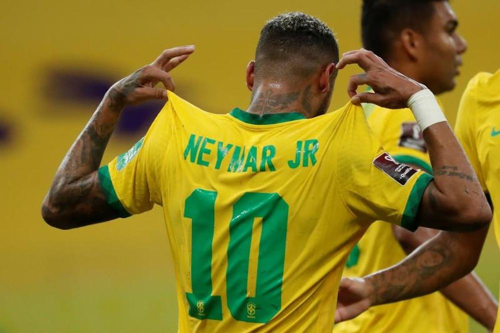 Neymar avait été critiqué dans la presse. AFP