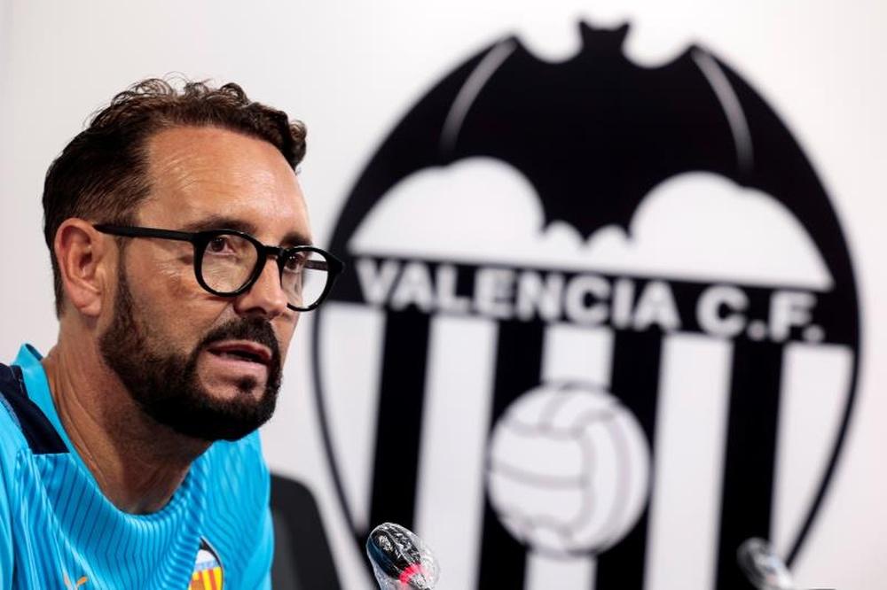 Bordalás firmó su mejor arranque liguero en Primera. EFE
