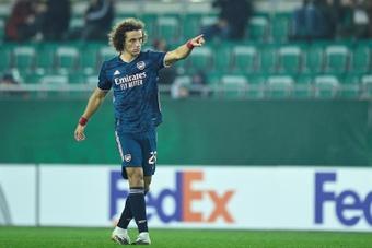 El Madrid estuvo cerca de David Luiz. EFE