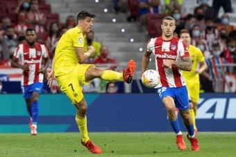 Gerard Moreno no estará en el Bernabéu. EFE