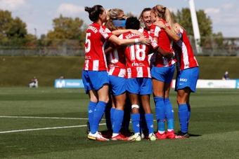 El Atlético de Madrid venció por 0-2 ante el Real Madrid. EFE
