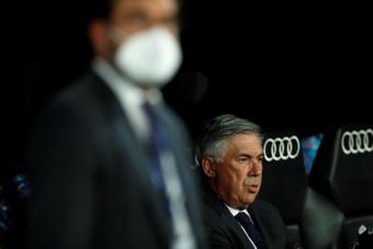 Davide Ancelotti, la mano derecha de su padre. EFE