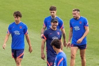 Héctor Herrera pide minutos a Simeone. EFE