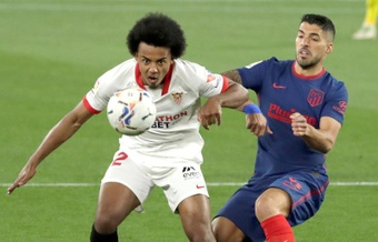 El PSG apunta el nombre de Koundé. EFE/Julio Muñoz
