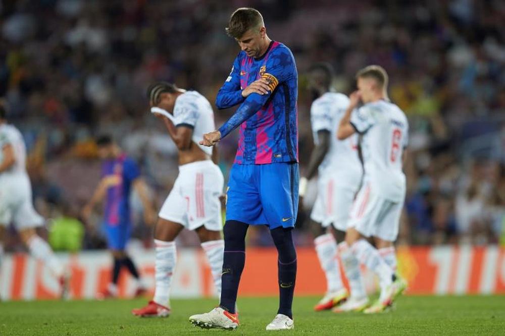El Barça encadena tres derrotas consecutivas como local en la Champions. EFE