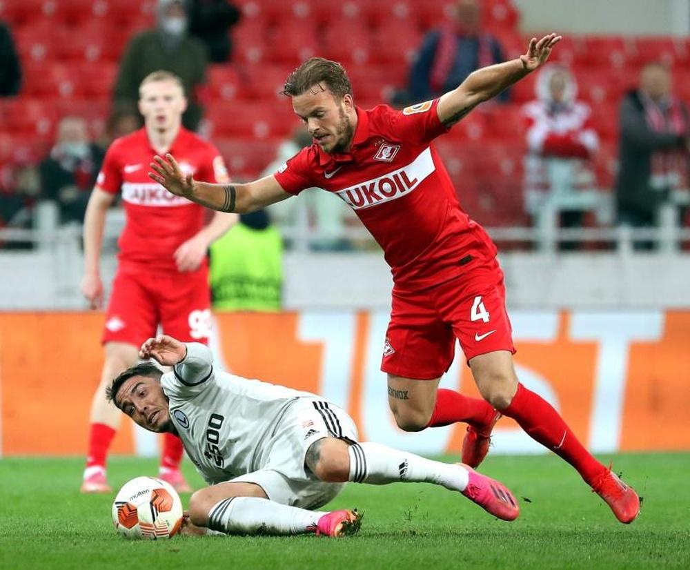 Kastrati le dio la victoria al Legia de Varsovia. EFE