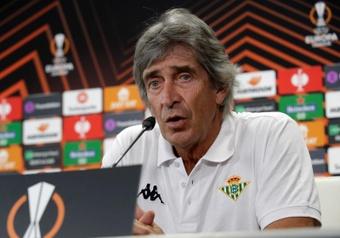 Pellegrini se acordó del Málaga antes de su estreno en la Europa League. EFE