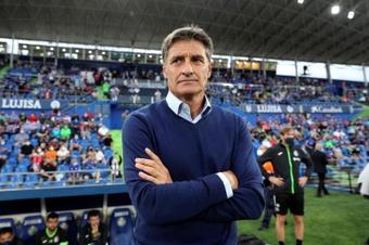 El entrenador del Getafe CF, Míchel, en una imagen de archivo. EFE/Rodrigo Jiménez