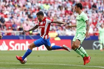 El Atlético empató ante el Athletic. EFE