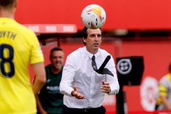 Emery y Escribá analizaron las sensaciones de sus equipos tras el partido. EFE