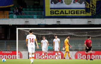 El Hellas Verona encuentra las cosquillas de la Roma. EFE/Emanuele Pennachio