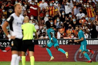 El Madrid, como pez en el agua en los finales de partido. EFE