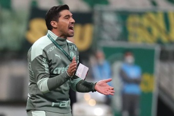 Palmeiras e Atlético-MG empataram sem gols. EFE/Sebastiao Moreira