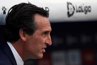 Emery espera lograr el triunfo ante el Elche. EFE