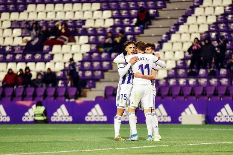 El Valladolid está haciendo los deberes. Twitter/realvalladolid
