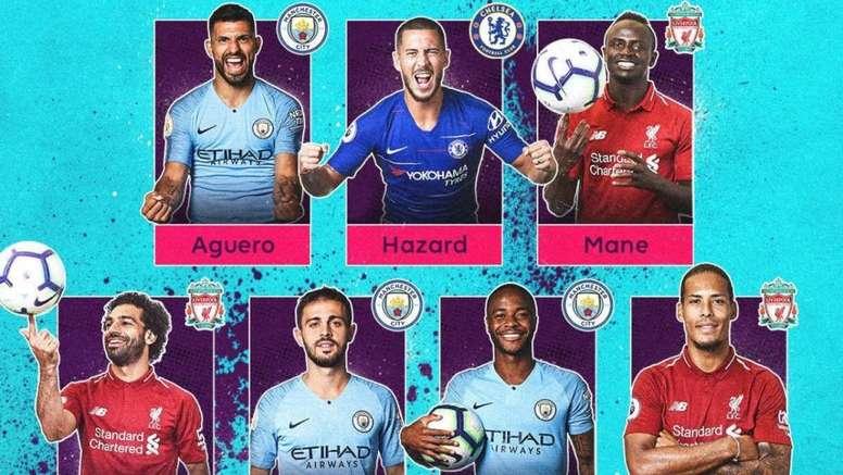 Les meilleurs joueurs de Premier League. PremierLeague