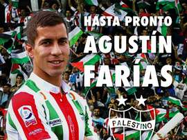 Palestino despide a su capitán. Twitter/Palestino