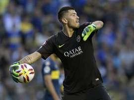 Agustín Rossi no jugará en la MLS. AFP/JuanMabromata