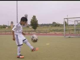Ahmad está en Alemania persiguiendo su sueño de convertirse en futbolista profesional. Acnur