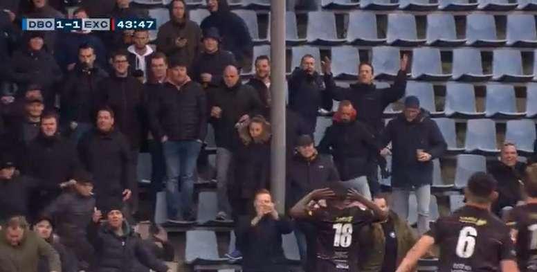 Holanda dice basta a los cánticos racistas. Captura/FOXSports