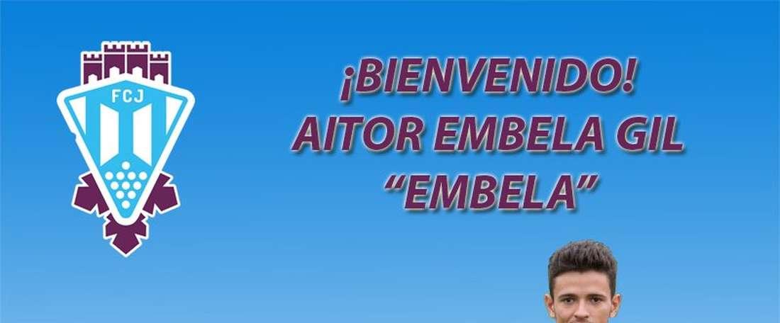 Aitor Embela, nuevo jugador del Jumilla. FCJumilla
