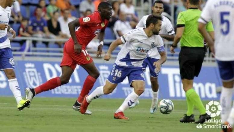 El Tenerife es de los menos goleadores de Segunda. LaLiga/Archivo