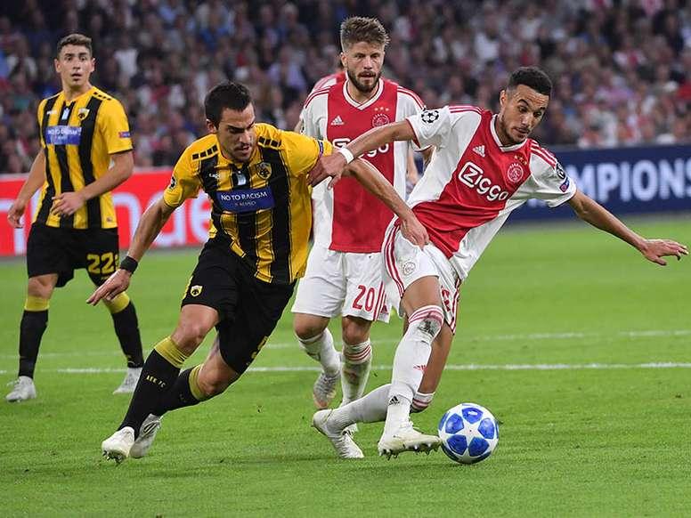Vasilios Lampropoulos, a un paso del Deportivo. AFP