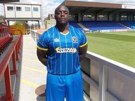 El futbolista más fuerte del mundo. AFCWimbledon