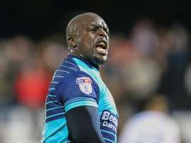Akinfenwa was allegedly racially abused by some Cambridge United fans. WycombeWanderers