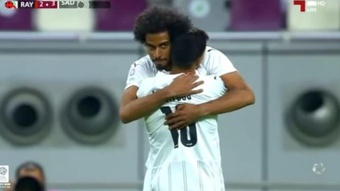 El Sadd se impuso por 2-4 al Al Rayyan. Captura/Youtube/QSL