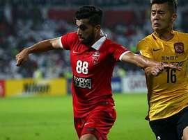 Al-Ahli y Guangzhou empatan a cero en la Champions League Asia. Twitter