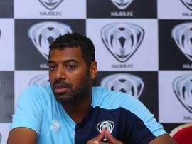 Al-Junoobi es el sustituto de Demol en el banquillo del club saudí. Twitter