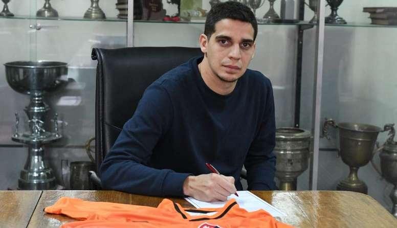Aguerre y Alzugaray, nuevos jugadores de Newell's. Twitter/CANOBoficial