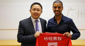 Alann now plays for CSL side Guangzhou Evergrande. Twitter