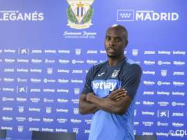 Nyom retrouve l'Espagne. Twitter/CDLeganes