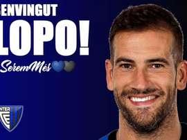 Albert Lopo, nuevo jugador del Inter Club Escaldes. InterClubEscaldes