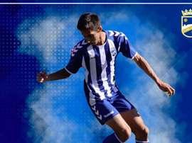 Alberto Rodriguez pasa a formar parte del primer equipo. Twitter/LorcaFCSAD