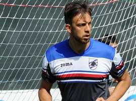 El guardameta estuvo la pasada temporada cedido en la Sampdoria. Sampdoria