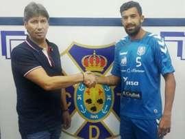Alberto Jiménez espera que el Tenerife sume los tres puntos ante el Huesca. CDTenerife
